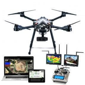 Drone Volante Con Telecamera Drone Per Ispezione Termografia Con Telecamera Flir E