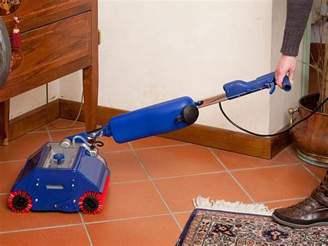 Tile Floor Scrubbers Machines by Duplex 280 Mini