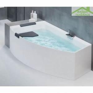 Baignoire Angle Douche : baignoire d 39 angle acrylique novellini divina o 165x94 cm ~ Voncanada.com Idées de Décoration