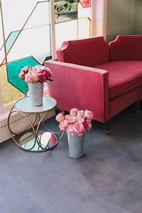 1001 idees pour booster votre interieur avec le rose With chambre bébé design avec bouquet fleur rouge