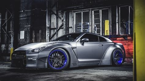 nissan gtr liberty walk tuning hd wallpaper wallpaperfx