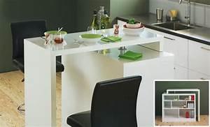 Alinea Table Salle A Manger : bar table chock tables et chaises salon et salle manger par pi ce alin a ~ Teatrodelosmanantiales.com Idées de Décoration