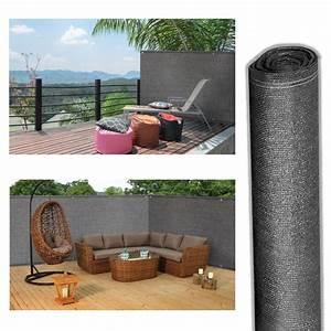 Brise Vue 220 G M2 : brise vue renforc 1 x 10 m gris 220 gr m luxe pro brise ~ Edinachiropracticcenter.com Idées de Décoration