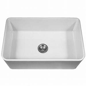 houzer platus series farmhouse apron front fireclay 33 in With 33 farmhouse sink white single bowl