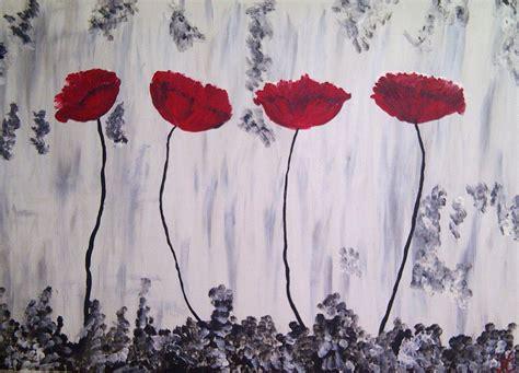 Janine N Bild Mohnblumen Malerei Abstrakt Von Janine Thoms Bei