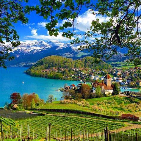 Spiez Switzerland Switzerland In 2019 Beautiful