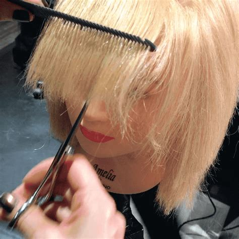 Cutting The Fringe master this heavy fringe cutting technique fabby loera