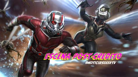 escenas post credito de ant man  la avispa noticias geek tv