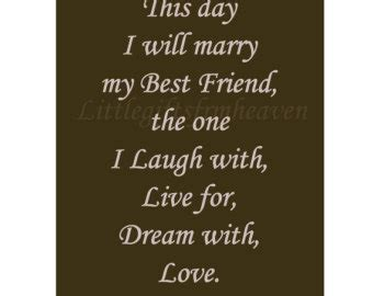 wedding day quotes   friend quotesta