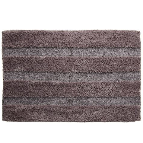 Sparkle Deluxe Chenille Bath Mat Home Bathroom B&M