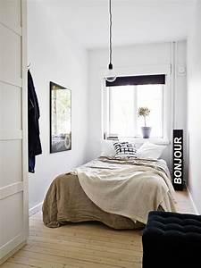 Chambre à Coucher Adulte : id e d co chambre adulte nos astuces pour les petits espaces ~ Teatrodelosmanantiales.com Idées de Décoration
