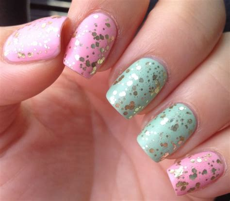 matte nail art designs    fashionre