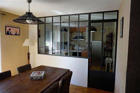 cuisine verriere atelier verrière d 39 intérieur pour la cuisine avec porte