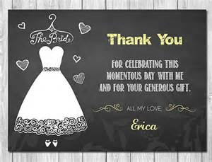 wedding shower thank you cards 17 bridal shower thank you cards free printable psd eps format free premium