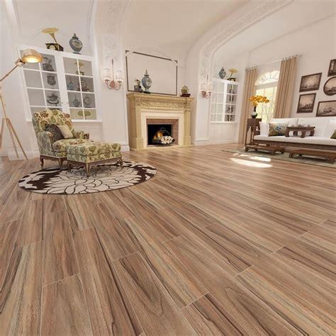 cheap wood grain effect finish ceramic floor tiles