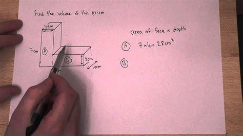 volume   find  volume    shaped prism youtube
