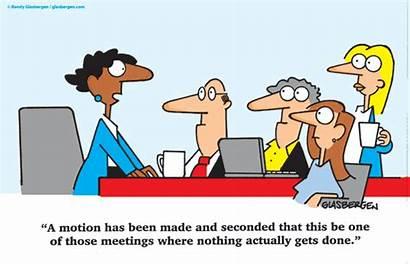 Meeting Staff Meetings Clipart Glasbergen Cartoon Funny