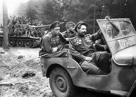 russian jeep ww2 vehicle dukw31 militaryimages net a military photo