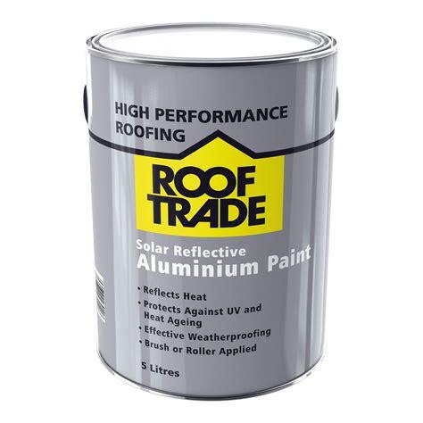 rooftrade silver solar reflective aluminium paint
