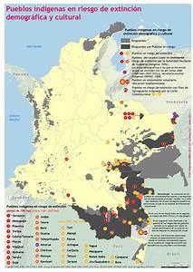 Territorios indígenas en Colombia Actualización mapas