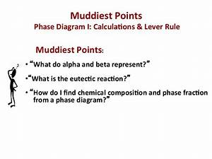 Mseasuslides  Muddiest Point  Phase Diagrams I Eutectic