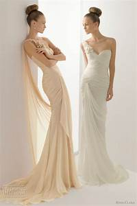 rosa clara 2012 wedding dresses color bridal gowns and With wedding dresses in color