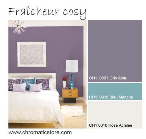 chambre mur violet dans la chambre un mur violet grisé apportera un souffle