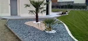 Decoration Jardin Pierre : ardoise deco jardin deco pierre jardin materiaux naturels champagne ~ Dode.kayakingforconservation.com Idées de Décoration