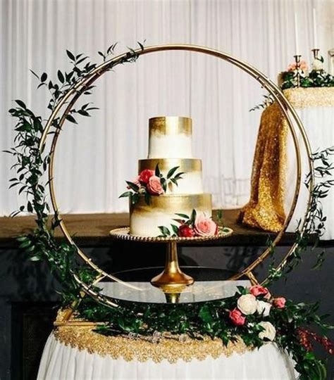 cake stand wedding decor metal round stand weddings