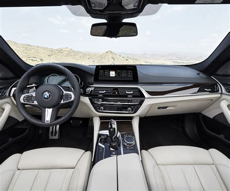 bmw inside 2017 next generation bmw 5 series comes with premium design