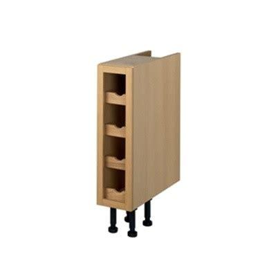 meuble range bouteille cuisine meuble range bouteilles 200 mm meuble cuisine fr