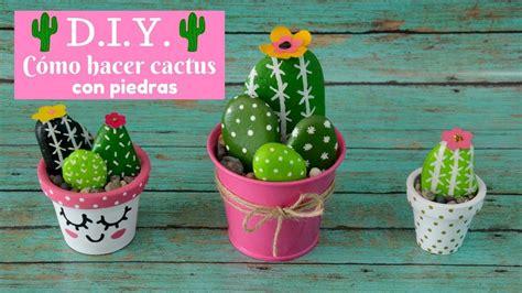 dibujos para hacer en piedras c 243 mo hacer cactus con piedras itziland