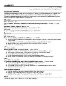 resume for computer science fresh graduate image science resume