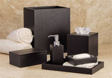 Home Place Bathroom Accessories by Italian Wenge Hotel Bathroom Accessories Set For The