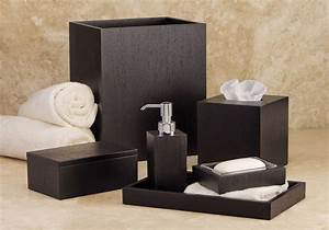 italian wenge hotel bathroom accessories set for the With hotel bathroom supplies