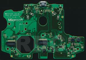 Xb1 Controller Pcb Scans  Traces And Info