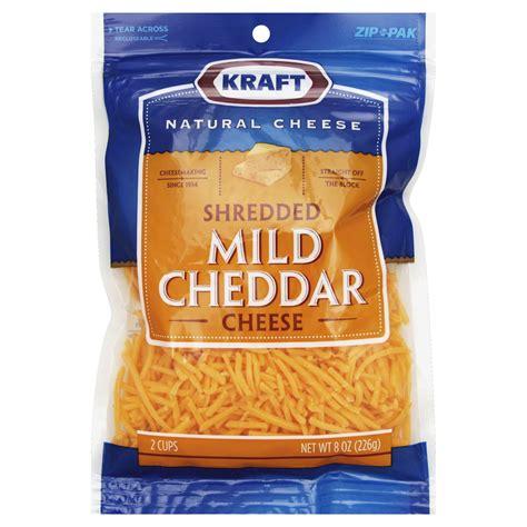 upc  kraft shredded mild cheddar cheese  oz upcitemdbcom