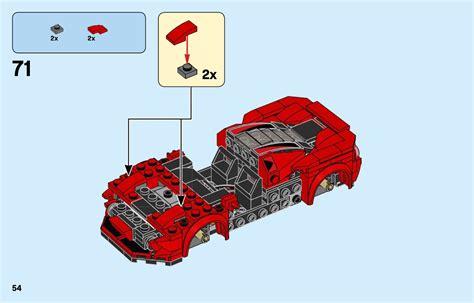 Speed champions 4 juniors (24) action wheelers (9) adventurers (72) agents (13) alpha team (32) aqua raiders (7) aquazone (28) architecture (54) art (9) filter has image (9) released (9) sold at lego.com (eu) (2) sold at lego.com (na) (1) was sold at lego.com (8). LEGO 76895 Ferrari F8 Tributo Instructions, Speed Champions