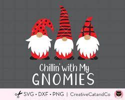 Vector pattern withn christmas gnomes royalty free illustration. cute christmas gnomes clipart - Google Search in 2020 ...