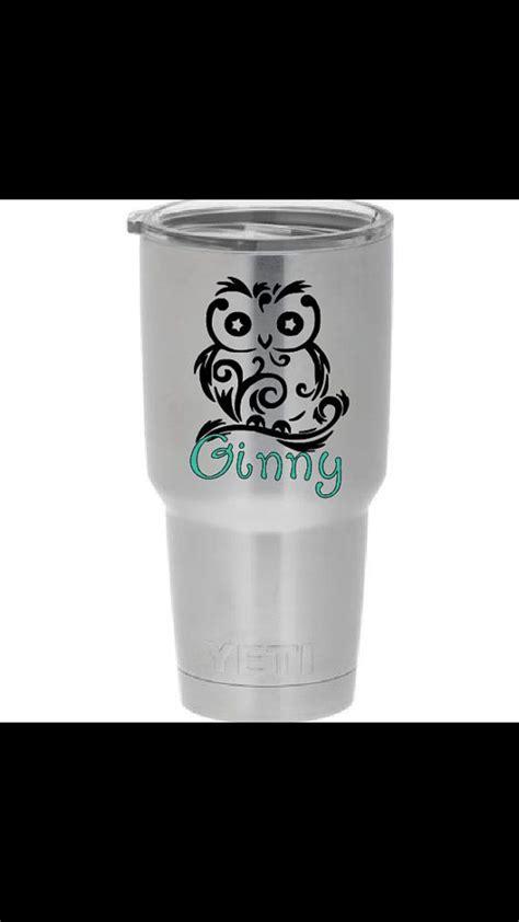 cricut personalized yeti tumblers decals  yeti cups personalize yeti