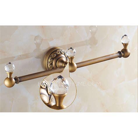 Unique Bar Accessories by Unique Antique Brass Single Decorative Towel Bars
