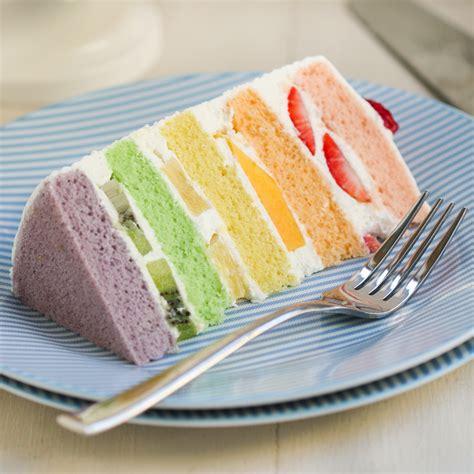thirsty  tea chinese bakery rainbow cake