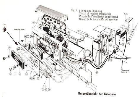 Mercede 280sl Fuse Diagram by Pagoda Sl Technical Manual Electrical Radio