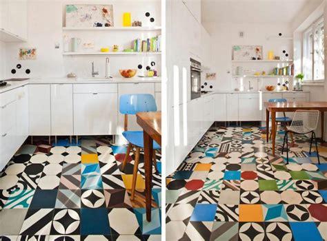 sol de cuisine carrelage cuisine murs et sol quels designs et couleurs