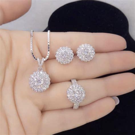 1 set perhiasan emas gold jewelry berlian s