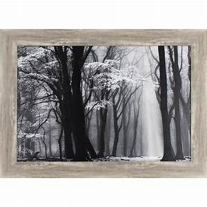 shop 435 in w x 315 in h framed landscape print at lowescom With kitchen cabinets lowes with landscape wall art framed