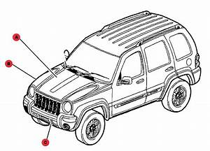 Shop By Diagram - Jeep Body Parts - 2000-2013 Liberty Body Parts