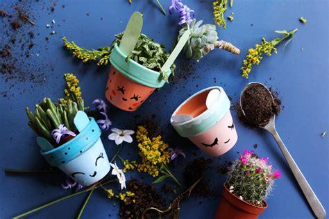 chambre style indien tuto enfants des petits pots de fleurs mignons