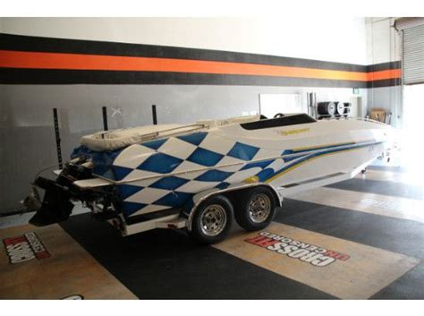 Placecraft Deck Boats For Sale by Used 2002 Placecraft 22 Deck Boat Sun City Ca 92587