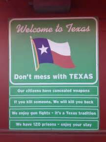 Welcome to Texas Meme